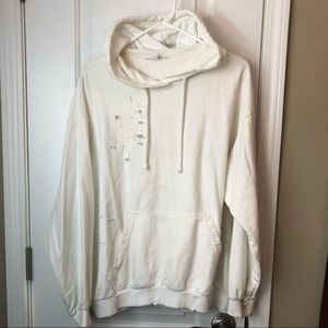 Don't Ask Why Distressed Hoodie